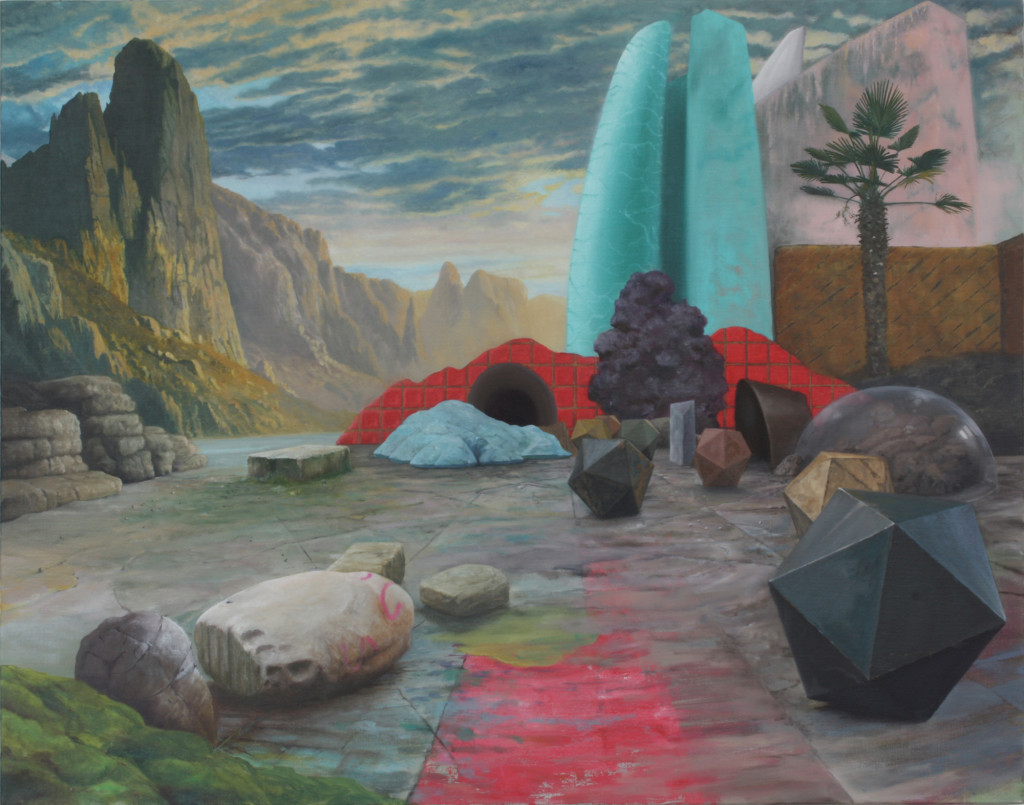 No Utopia 2012 Oil On Linen 75cm x 95cm